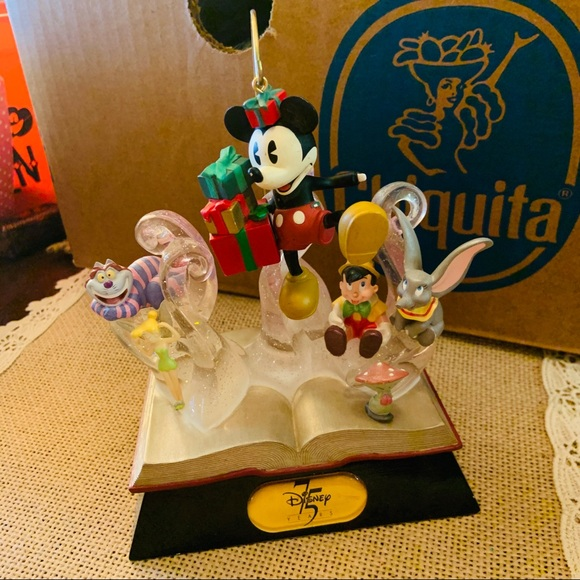 Disney Other - disney 75th anniversary book sculpture Mickey